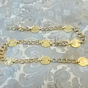 Beautiful Chain and Coin Belt